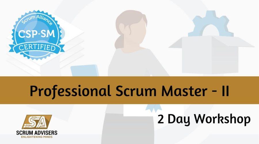 PSM- Professional Scrum Master-II