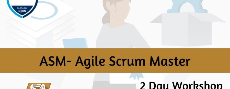 ASM- Agile Scrum Master